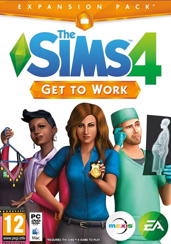 The Sims 4: Get to Work (2015) Addon - Скриншот 1